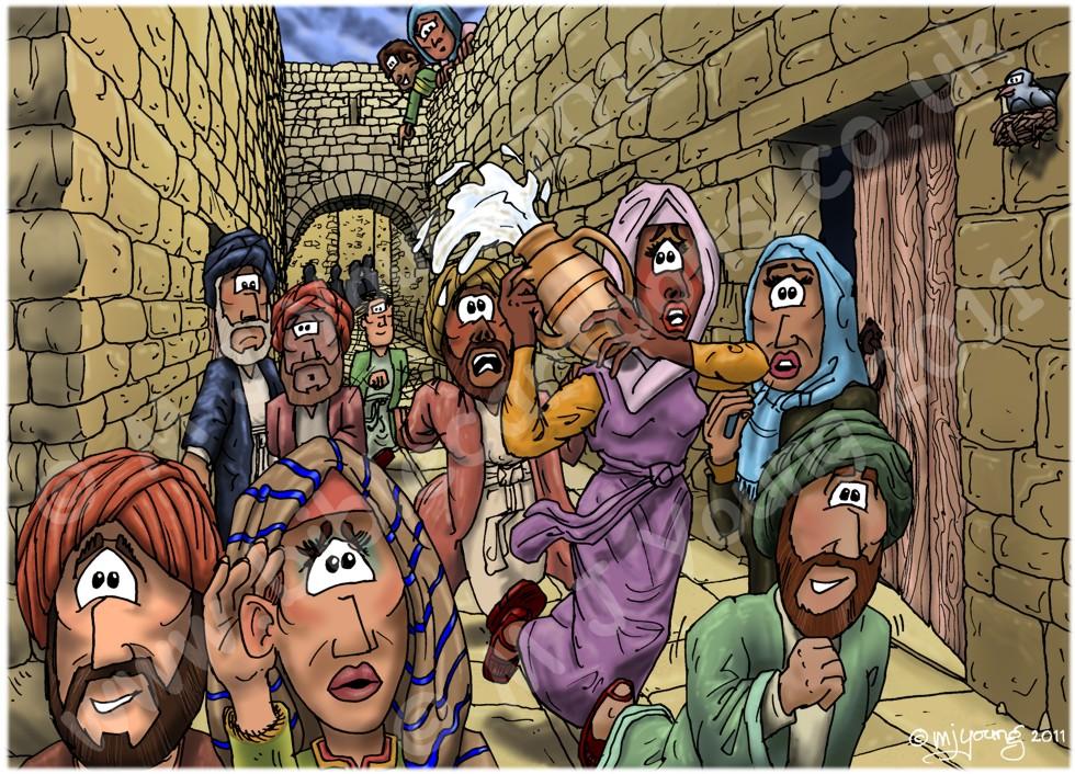 Acts 02 - Pentecost - Scene 06 - Running