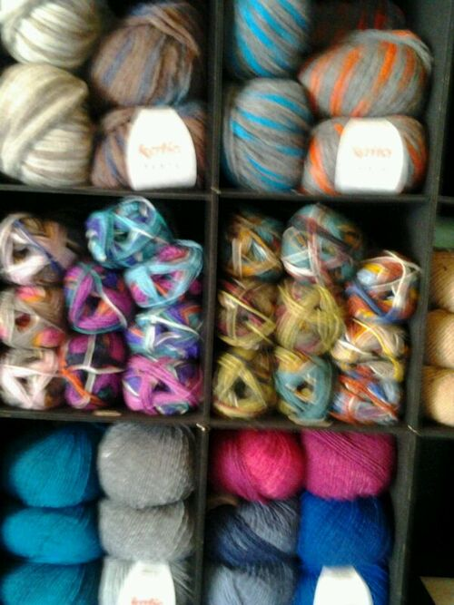 NOUVEAU : arrivage de laine KATIA