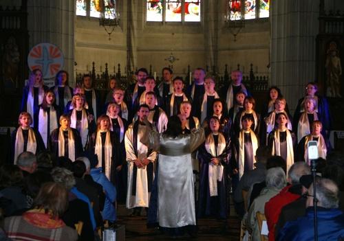 Concert GOSPEL - Eglise Noyal /V. - 12/02/2012