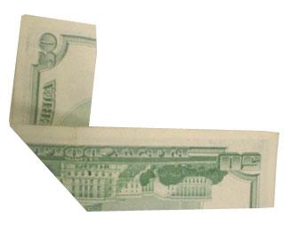 Le secret  d'un dollar americain (50$)