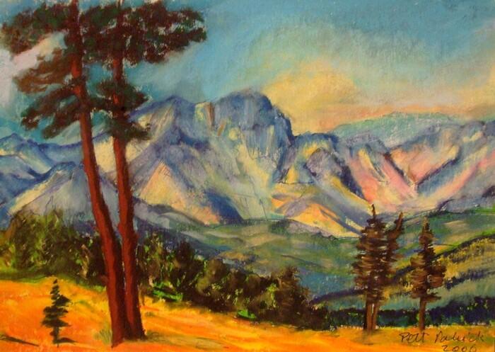 Montagne bleue n° 2