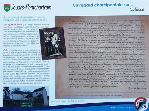 Regard chartripontain sur 14-18 : Colette et Blaise Cendrars