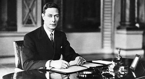 Né le 14 décembre 1895, Georges VI d'Angleterre , Sagittaire ascendant Balance