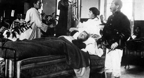 25 décembre 1914 : un peu de la chaleur de Noël pour les blessés