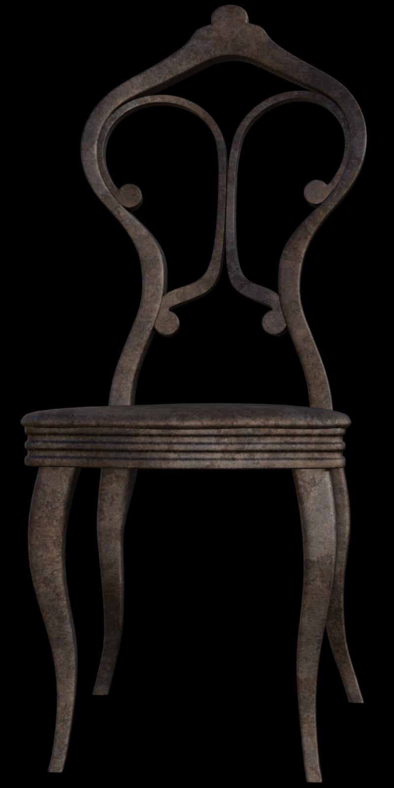 Tube de chaise Steampunk (render-image)