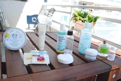blog beauté, vanity vacances, soins, voyage, cosmétiques avion