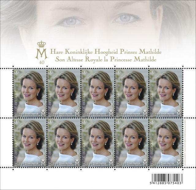 Le timbre de Mathilde