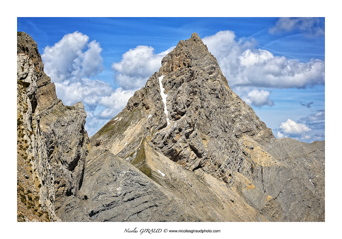 Montagne de Garnesier en Dévoluy