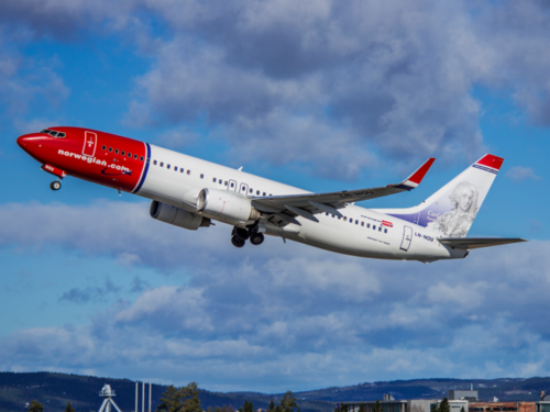 Norwegian, European low cost.