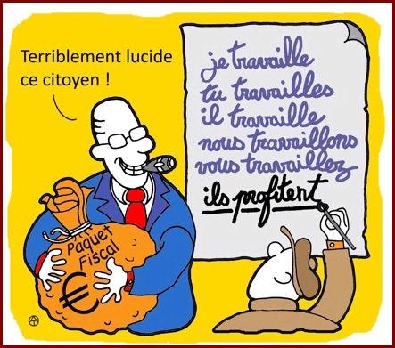 """""""Ces contes des 1001 jours ne parlaient que de catastrophes, d'argent et de chômage"""". Jacques Damboise in """"Pensées étriquées""""."""