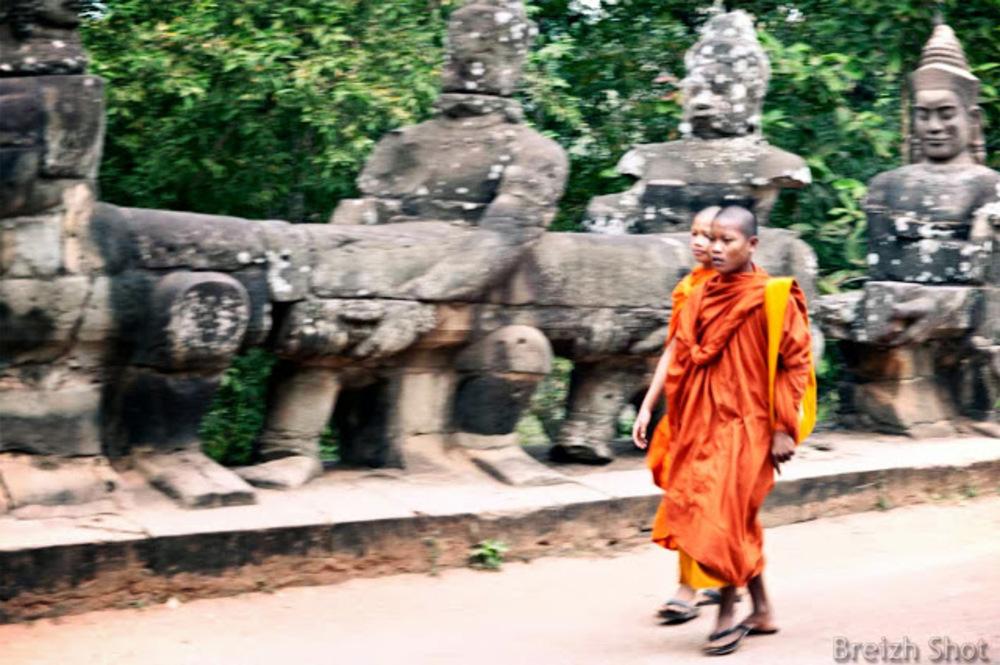 Angkor Thom, la porte Sud