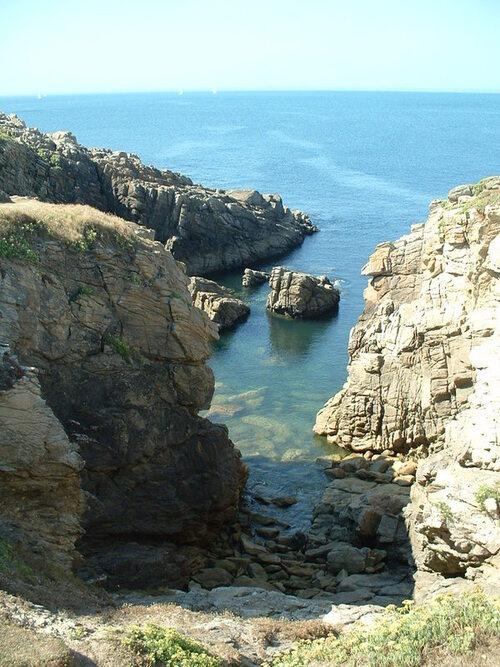 Balade sur la côte ouest de la presqu'île de Quiberon ( 1 )