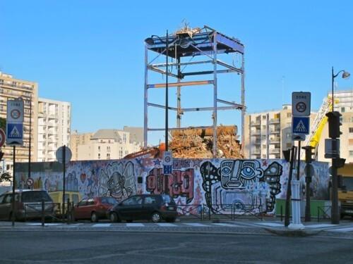 démolition usine CPCU Ourcq 8