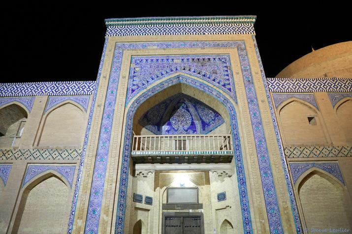 La médersa et le minaret Islam Kodja, Khiva