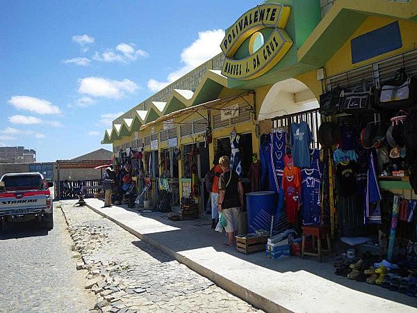 Sal Rei, boutiques sénégalaises