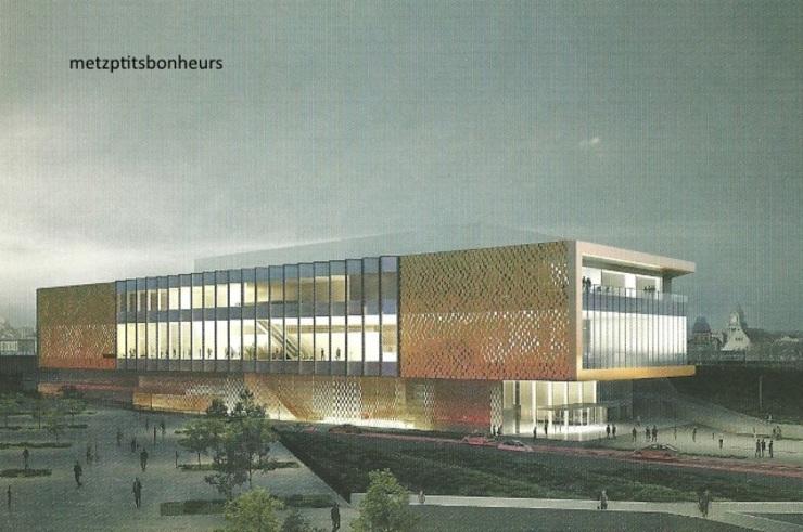 Centre des Congrès de Metz.