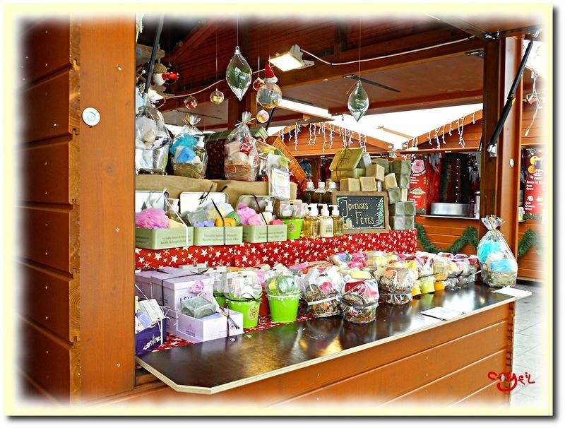 Un tour au marché de Noël