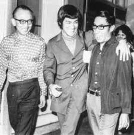 Raymond Chow ; Bruce Lee ; Han Yin-Chieh