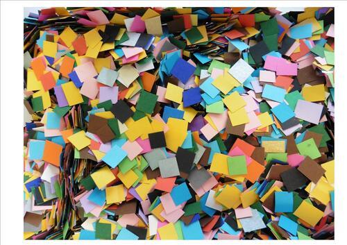 Sapin en mosaïque papier