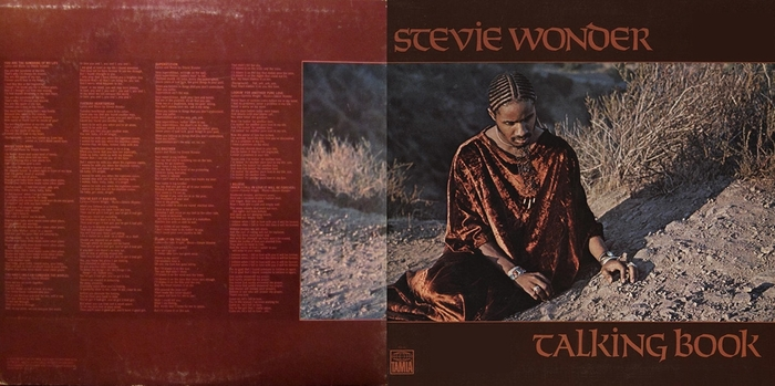 "Stevie Wonder : Album "" Talking Book "" Tamla Records T 319L [ US ]"
