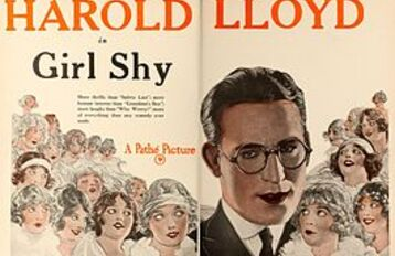 GIRL SHY BOX OFFICE 1924