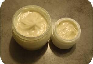 Crème nourrissante aux plantes