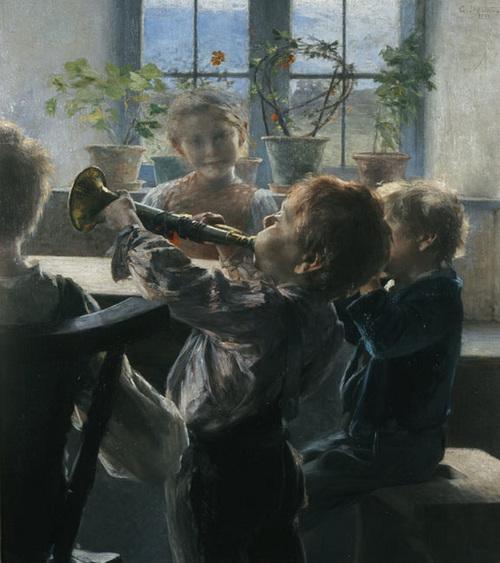 La musique grecque en peinture
