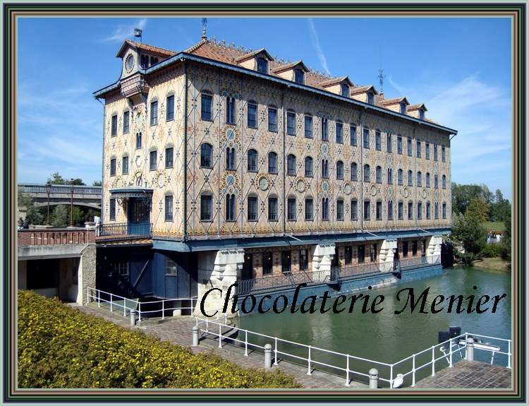 Le grand almanach de la France : Chocolaterie Menier