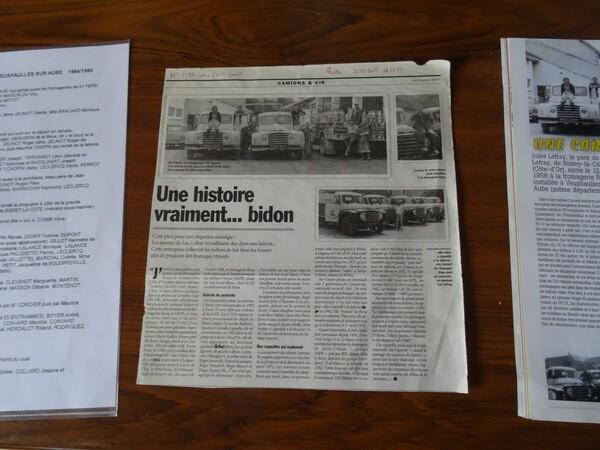 Luc Lefray et Pierre André ont publié un cahier des Amis du Châtillonnais sur Veuxhaulles sur Aube