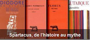 Liste Spartacus de l'histoire au mythe