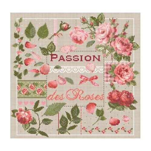 La passion des roses