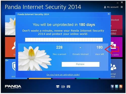 Panda Internet Security 2014 - Licence