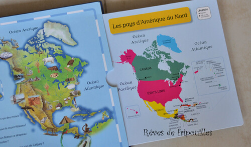 Mon premier atlas éditions Gallimard Jeunesse