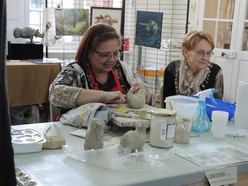 Le CLAP de Liévin- Portes ouvertes des ateliers d'artistes- Dimanche