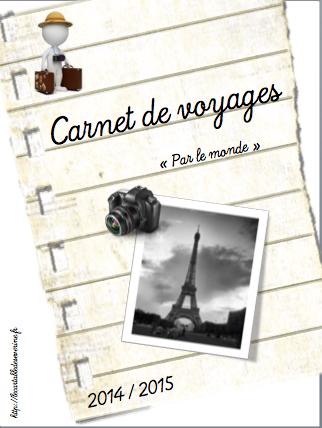 """Projet """"Par le monde"""" carnet de voyages"""