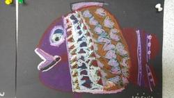 """Les poissons en arts visuels : """"Aujourd'hui je suis"""""""