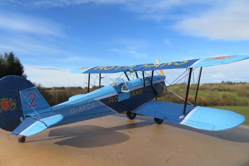 STAMPE SV4C Patrouille acrobatique ROTHMANS