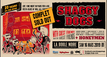 Shaggy Dogs - la Boule Noire (Paris)