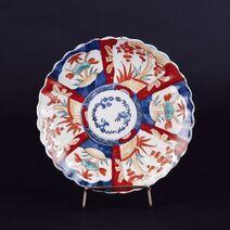 Coupe en porcelaine à décor Imari. Japon, fin du XIXe siècle
