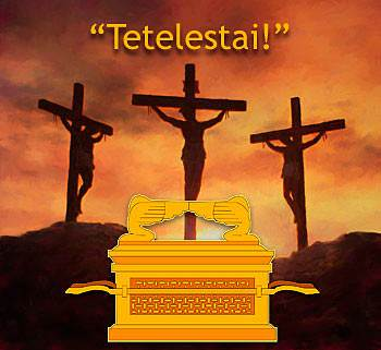 """Juste avant la mort de Christ sur la croix, il a crié un mot: """"Tetelestai!"""" - """"C'est fini!"""""""