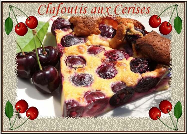 Recette de Cuisine : Clafoutis aux cerises