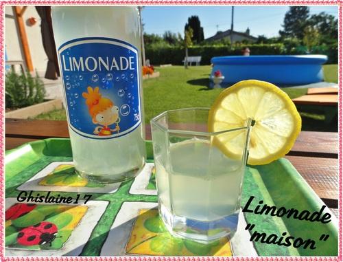 "Limonade ""maison"""