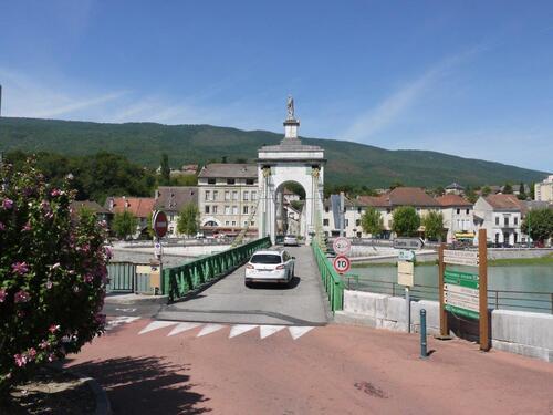 Pont depuis la Haute Savoie