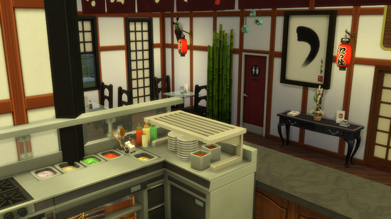 "Création Sims 4 | ""Royal Japan"" - Restaurant"