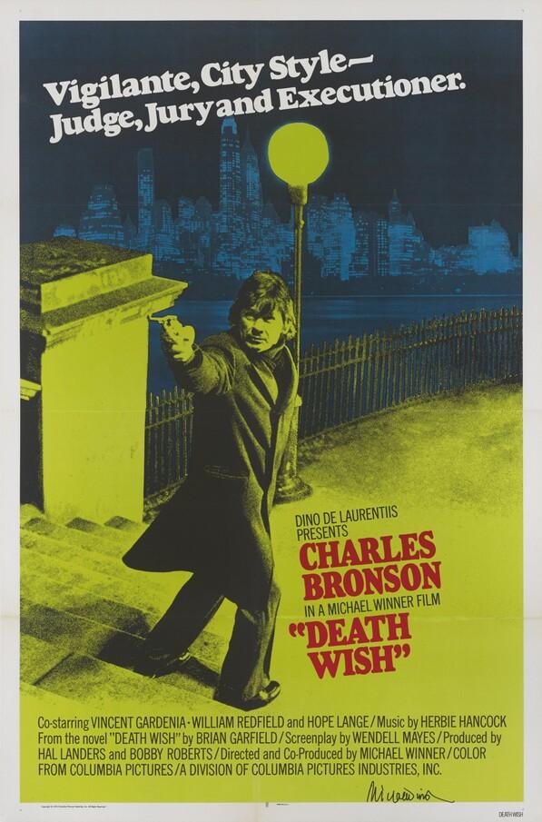 DEATH WISH BOX OFFICE USA 1974