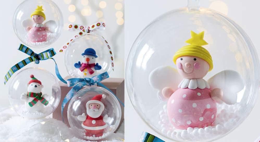 Decoration De Noel En Pate Fimo