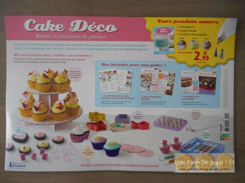 "Collection "" Cake Déco "" - Altaya - Janv 2015"