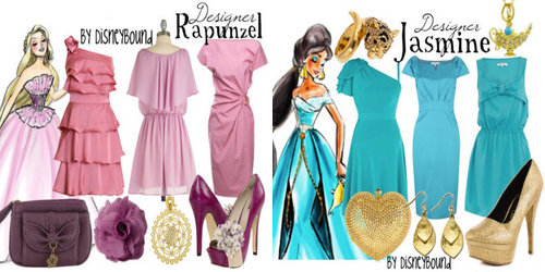 La mode selon Disneybound