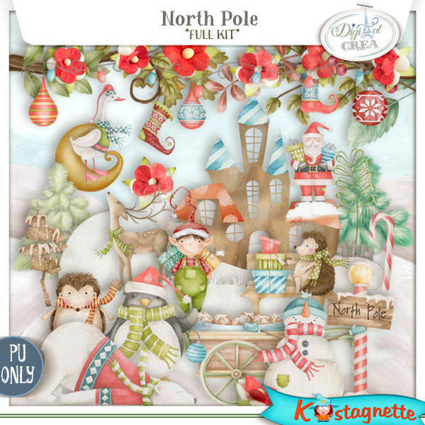 North Pole by Kastagnette