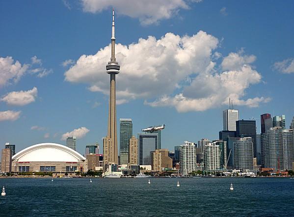Toronto Skyline avion